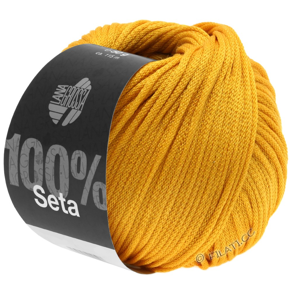 Lana Grossa SETA | 08-melone yellow