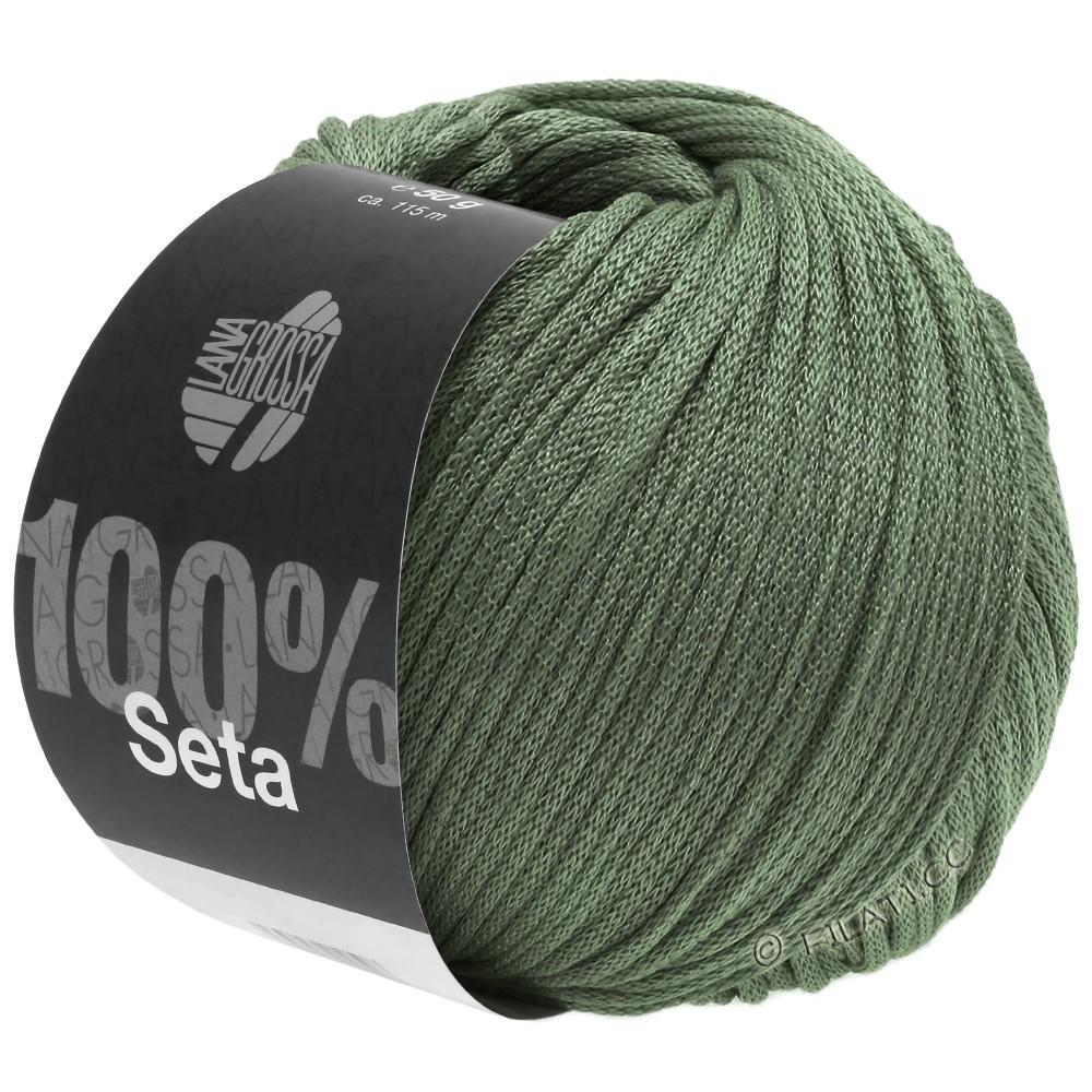 Lana Grossa SETA | 13-gray green