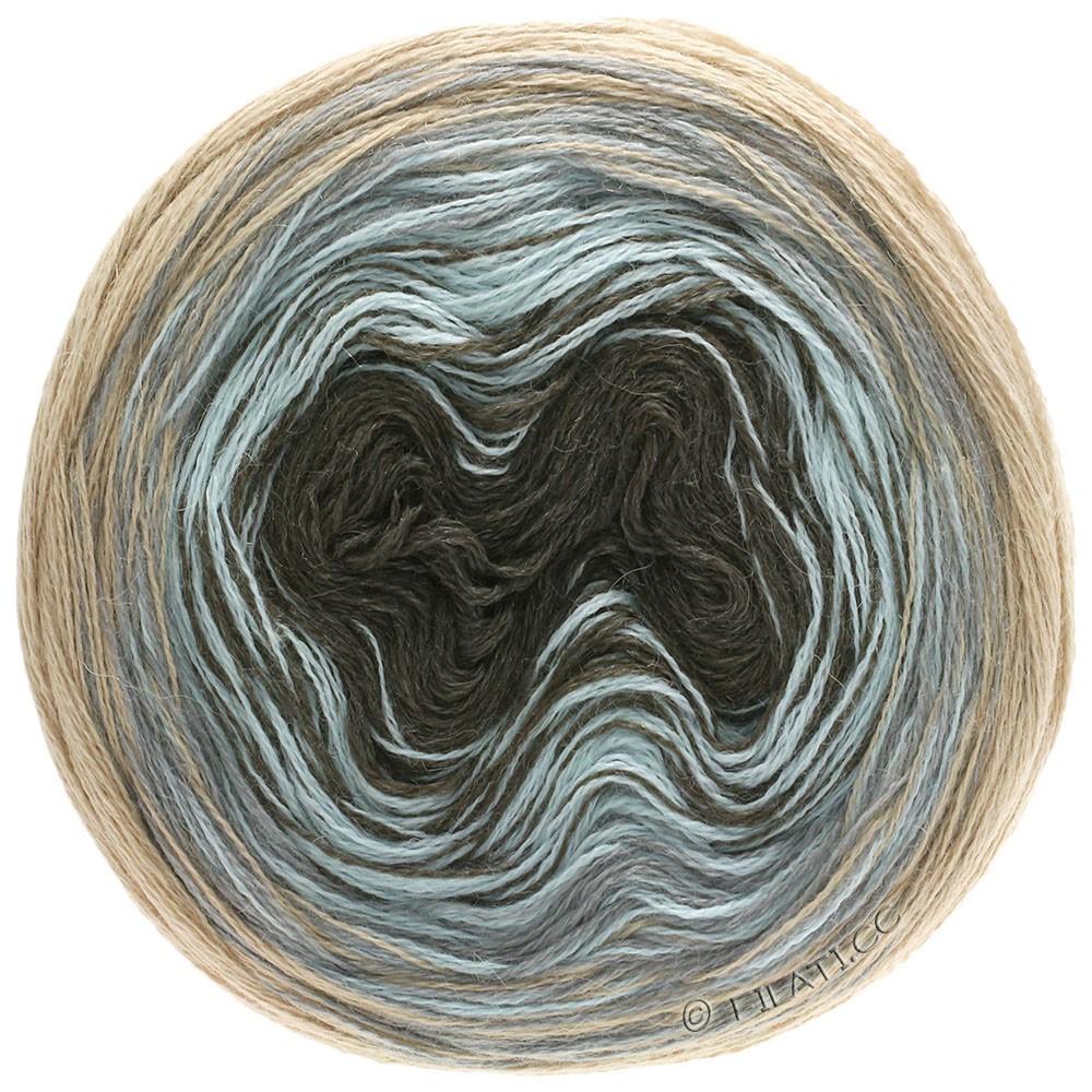 Lana Grossa SHADES OF ALPACA SILK | 304-beige/light gray/ice blue/mocha