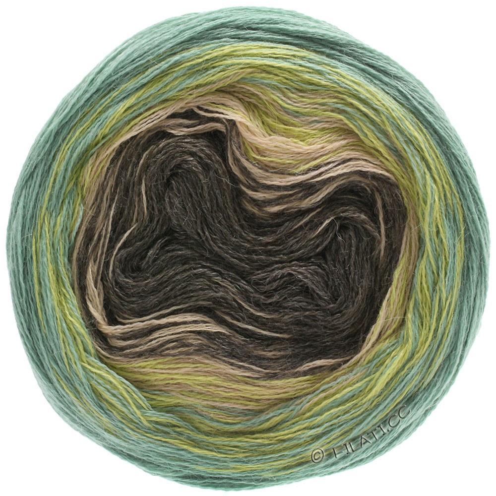 Lana Grossa SHADES OF ALPACA SILK | 305-mustard/green/beige/mocha