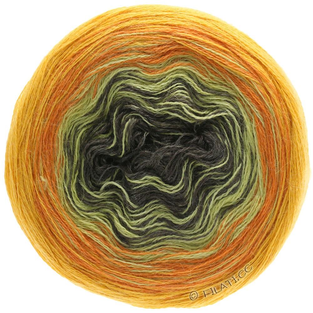 Lana Grossa SHADES OF ALPACA SILK | 308-sun yellow/orange/mustard/mocha