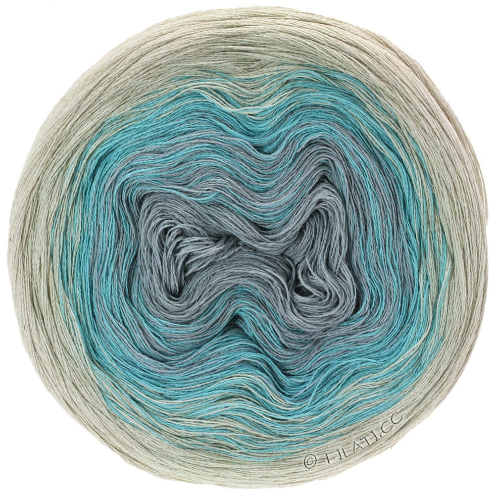 Lana Grossa SHADES OF COTTON LINEN | 704-natural/light blue/light gray/gray