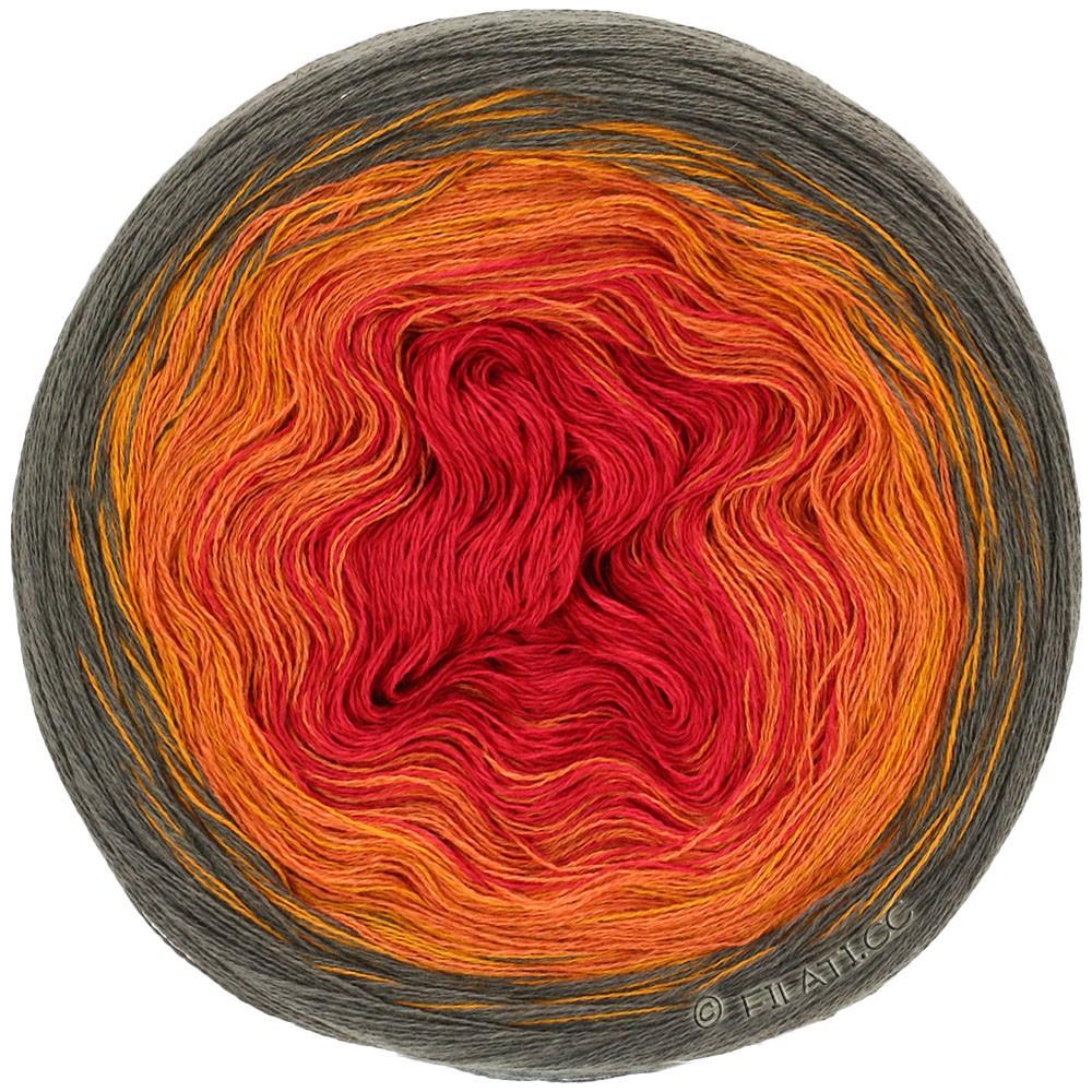 Lana Grossa SHADES OF COTTON LINEN | 707-mocha/gold/orange/red