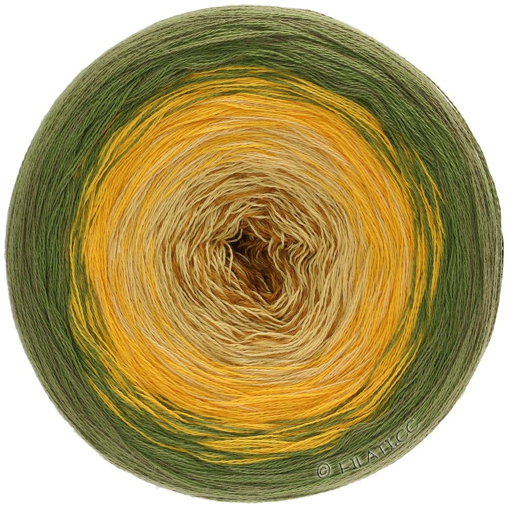 Lana Grossa SHADES OF COTTON | 108-olive/sun yellow/light yellow/camel