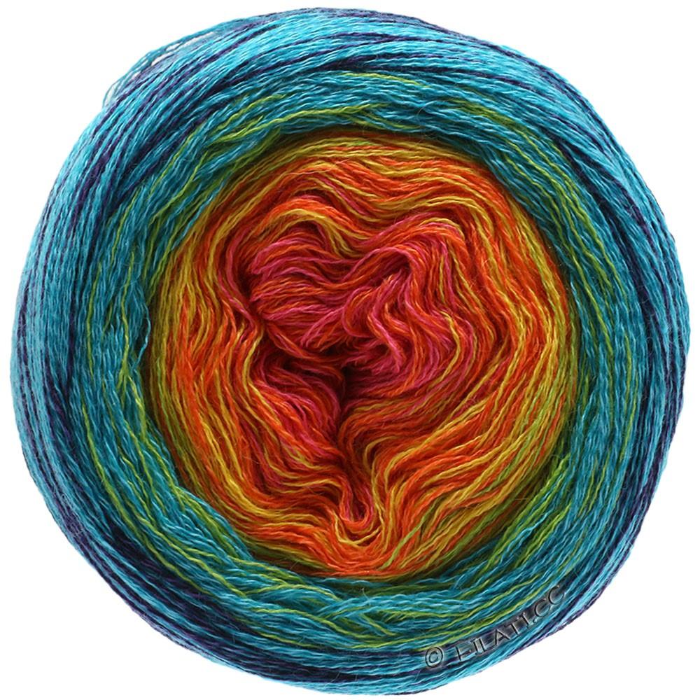 lana Grossa-benessere-FB Lana creativo 6 azul//gris 50 G