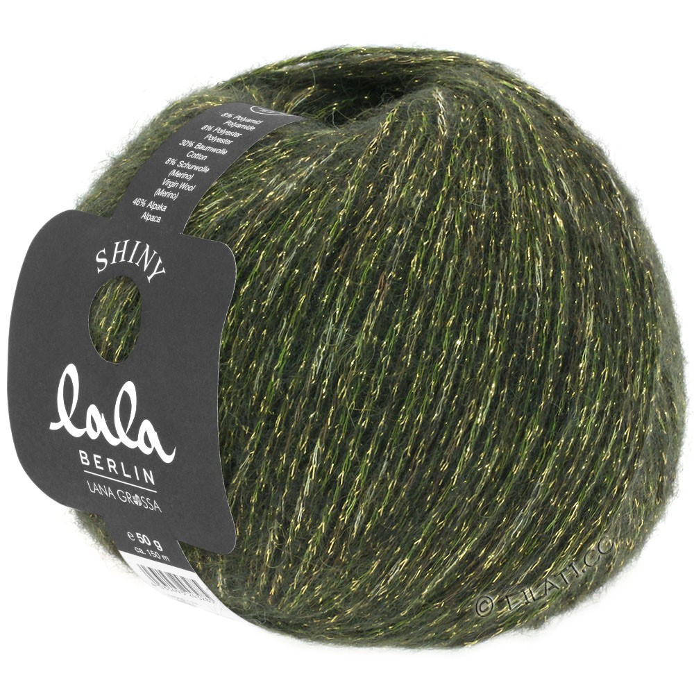 Lana Grossa SHINY (lala BERLIN) | 10-dark olive
