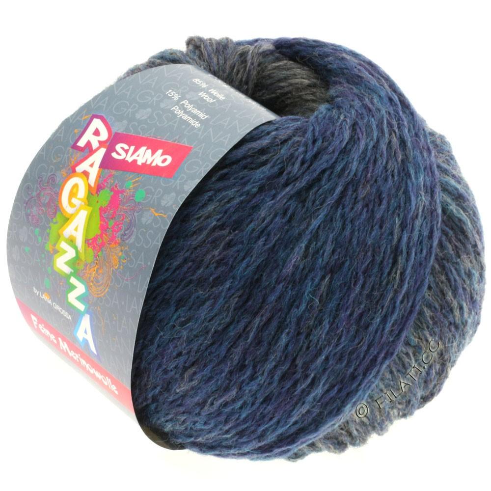Lana Grossa SIAMO (Ragazza) | 06-blue/gray mottled