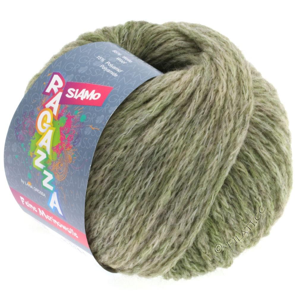 Lana Grossa SIAMO (Ragazza) | 07-olive/reed mottled
