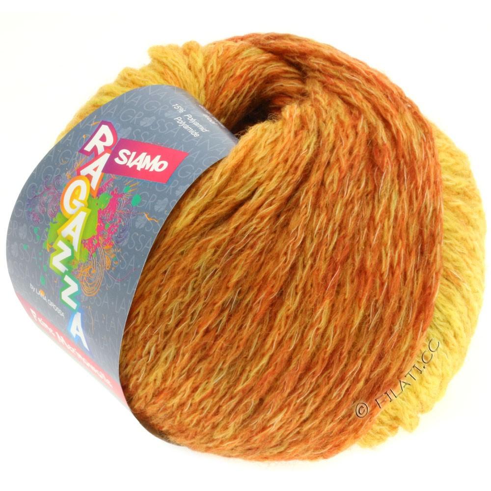 Lana Grossa SIAMO (Ragazza) | 08-yellow/rust mottled
