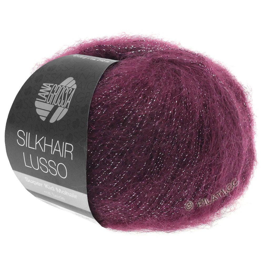 Lana Grossa SILKHAIR Lusso | 905-burgundy