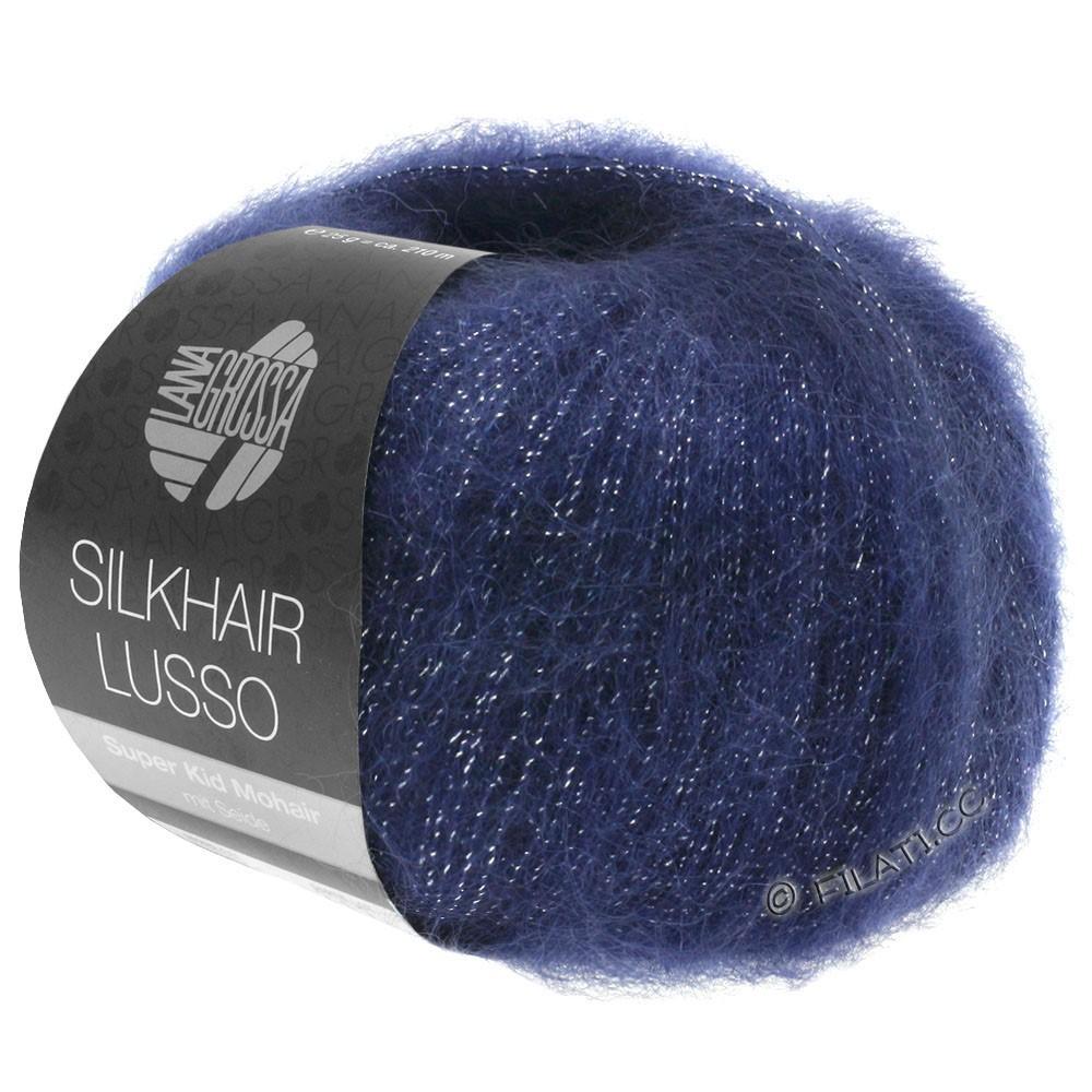 Lana Grossa SILKHAIR Lusso | 907-dark blue