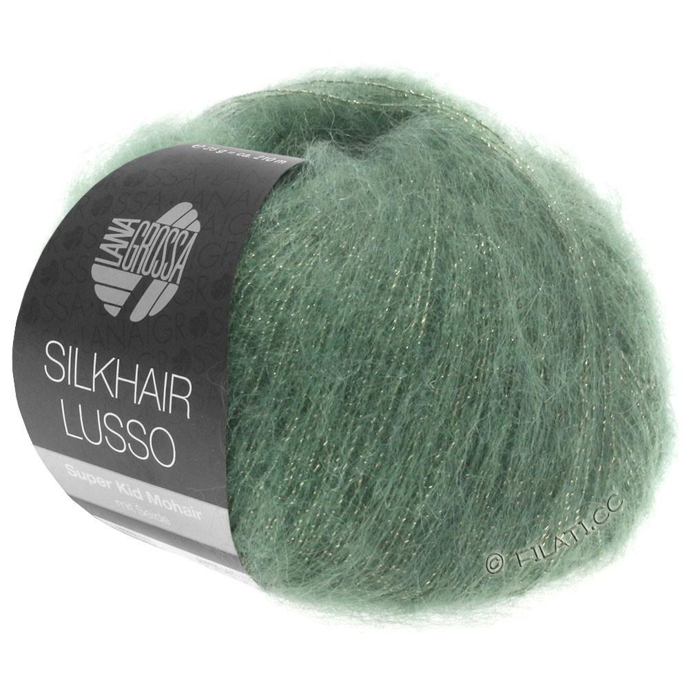 Lana Grossa SILKHAIR Lusso | 911-green