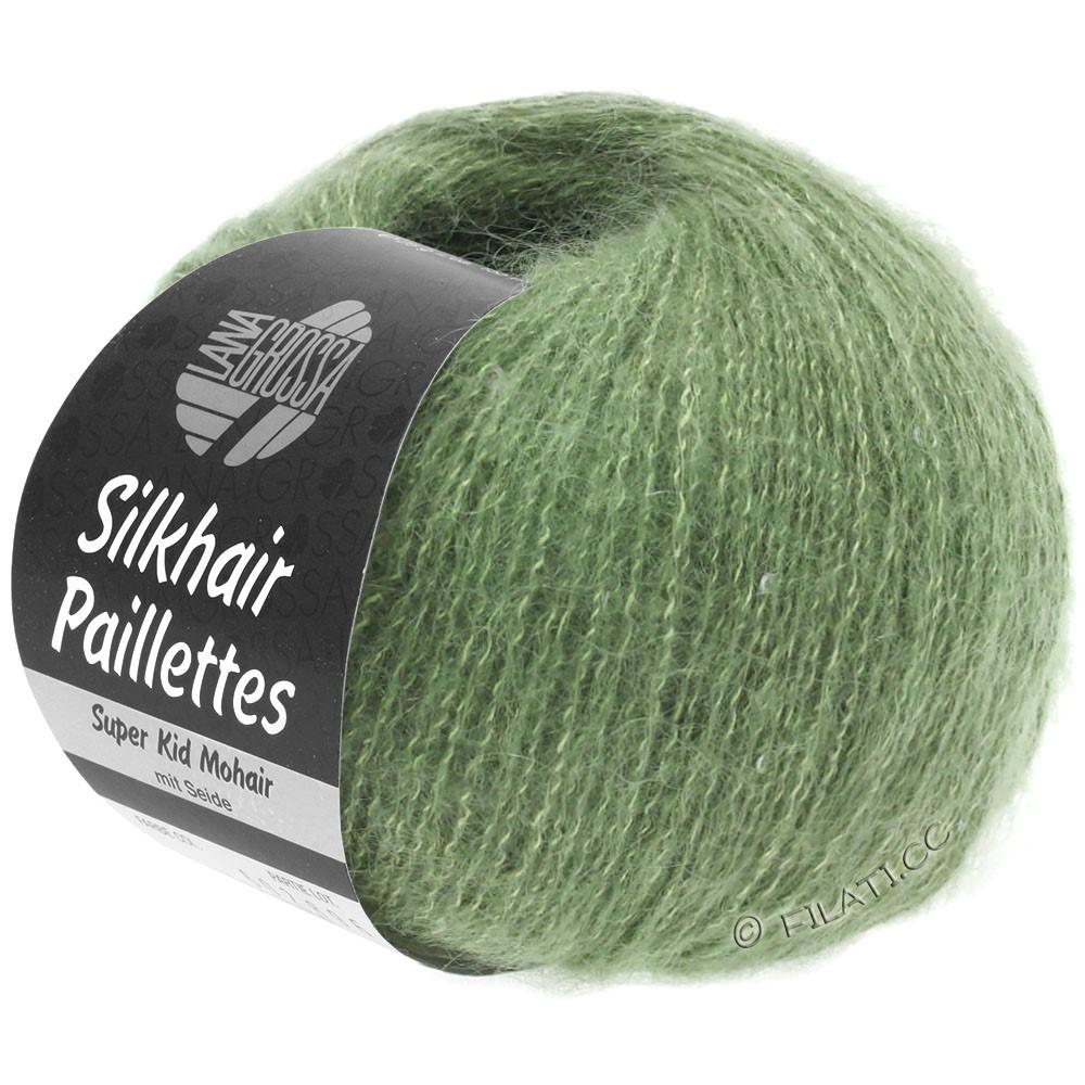 Lana Grossa SILKHAIR Paillettes | 420-reseda green