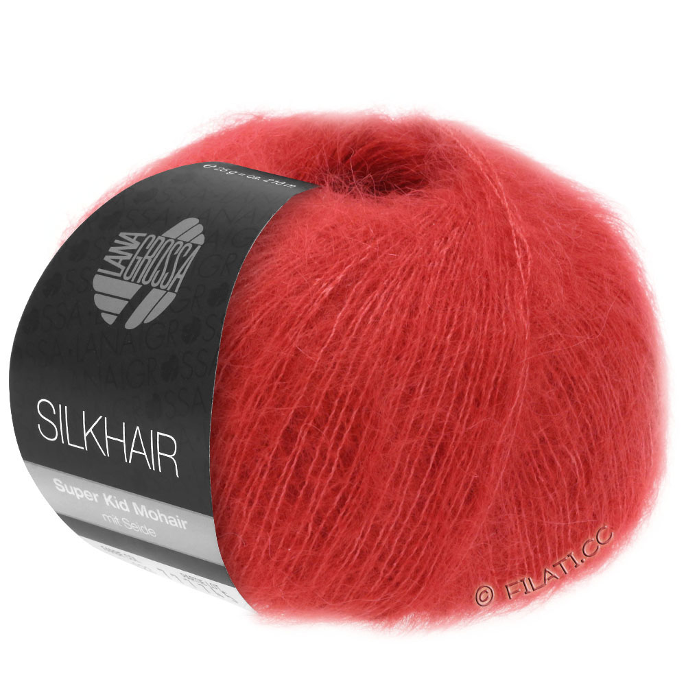 31,60€//100g Lana Grossa Silkhair Mohair 25g Farbe 131