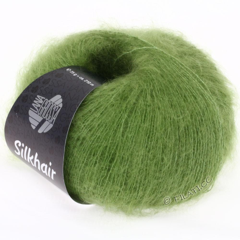 Lana Grossa SILKHAIR  Uni/Melange   051-apple green