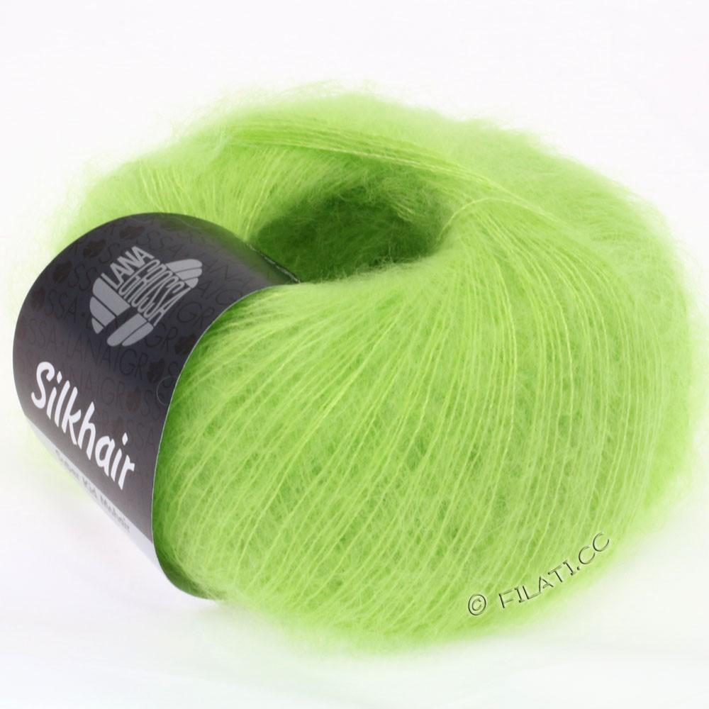 Lana Grossa SILKHAIR  Uni/Melange   054-light green