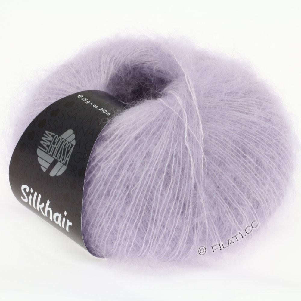 Lana Grossa SILKHAIR  Uni/Melange   059-pale lilac