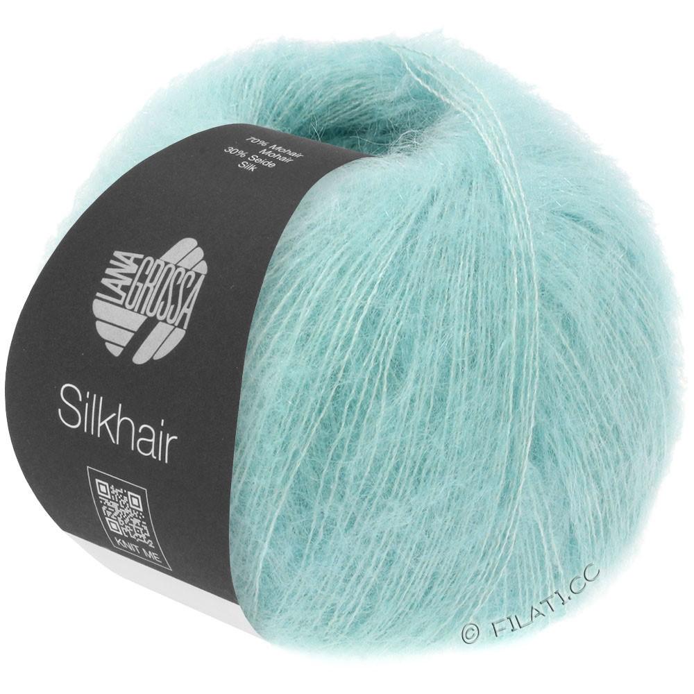 Lana Grossa SILKHAIR  Uni/Melange   082-light turquoise