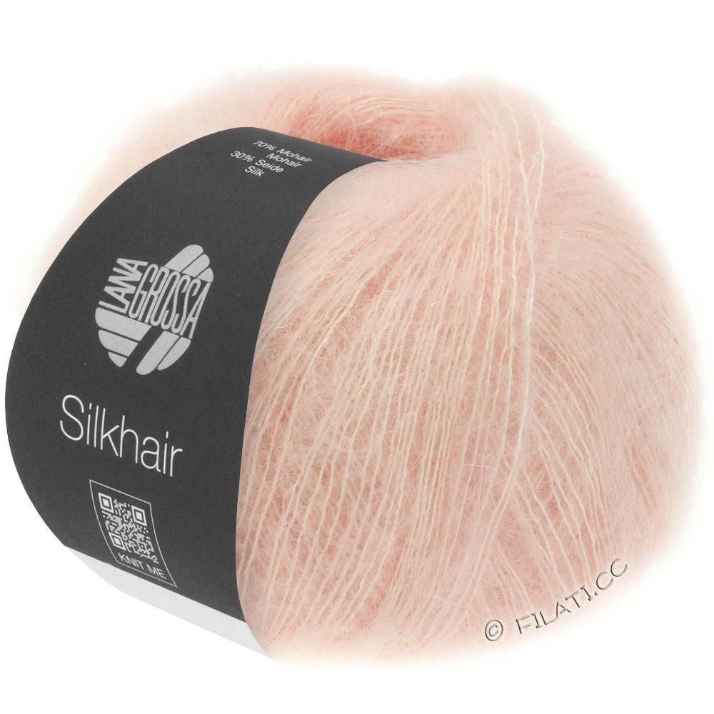 Lana Grossa SILKHAIR  Uni/Melange   086-powder pink