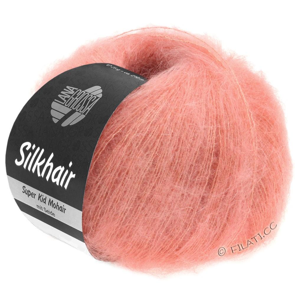 Lana Grossa SILKHAIR  Uni/Melange   102-salmon pink