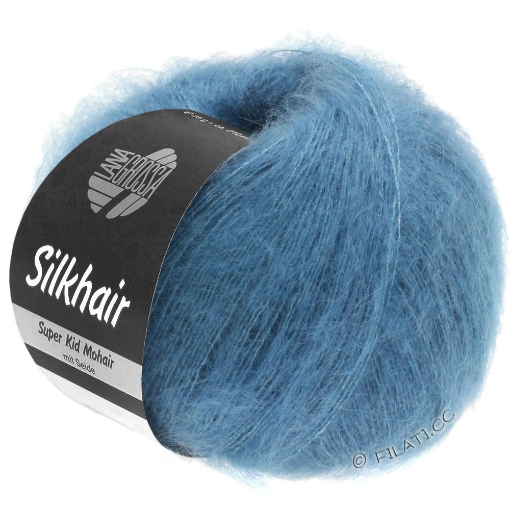 Lana Grossa SILKHAIR  Uni/Melange   103-jeans blue