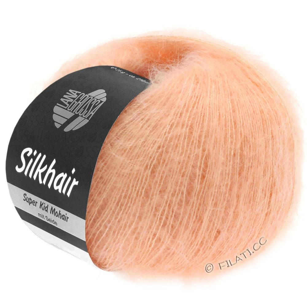 Lana Grossa SILKHAIR  Uni/Melange   106-pearl rose