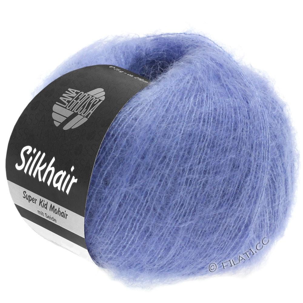 Lana Grossa SILKHAIR  Uni/Melange   116-violet blue