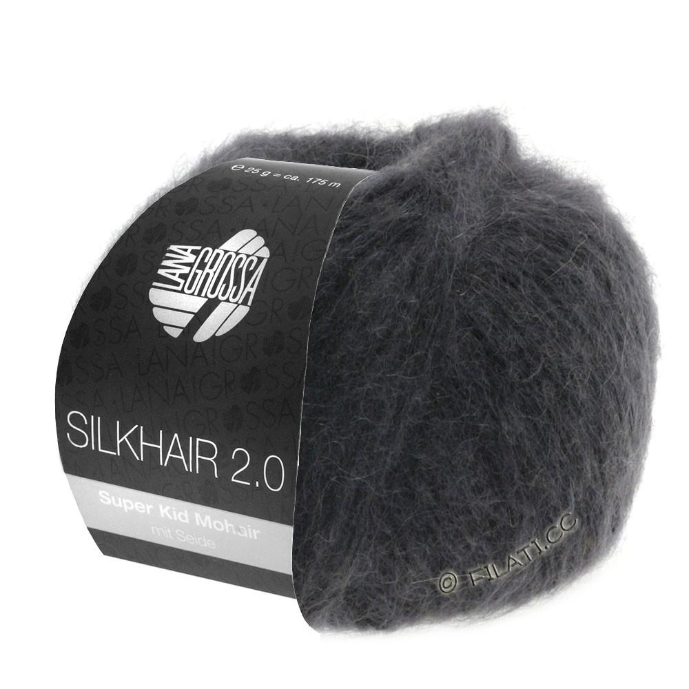 Lana Grossa SILKHAIR 2.0 | 01-anthracite