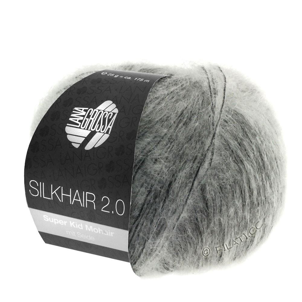 Lana Grossa SILKHAIR 2.0 | 02-gray