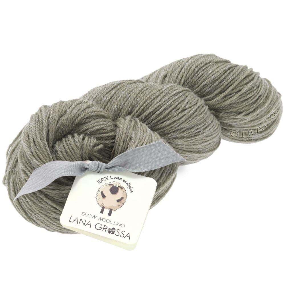 Lana Grossa SLOW WOOL LINO   05-stone gray