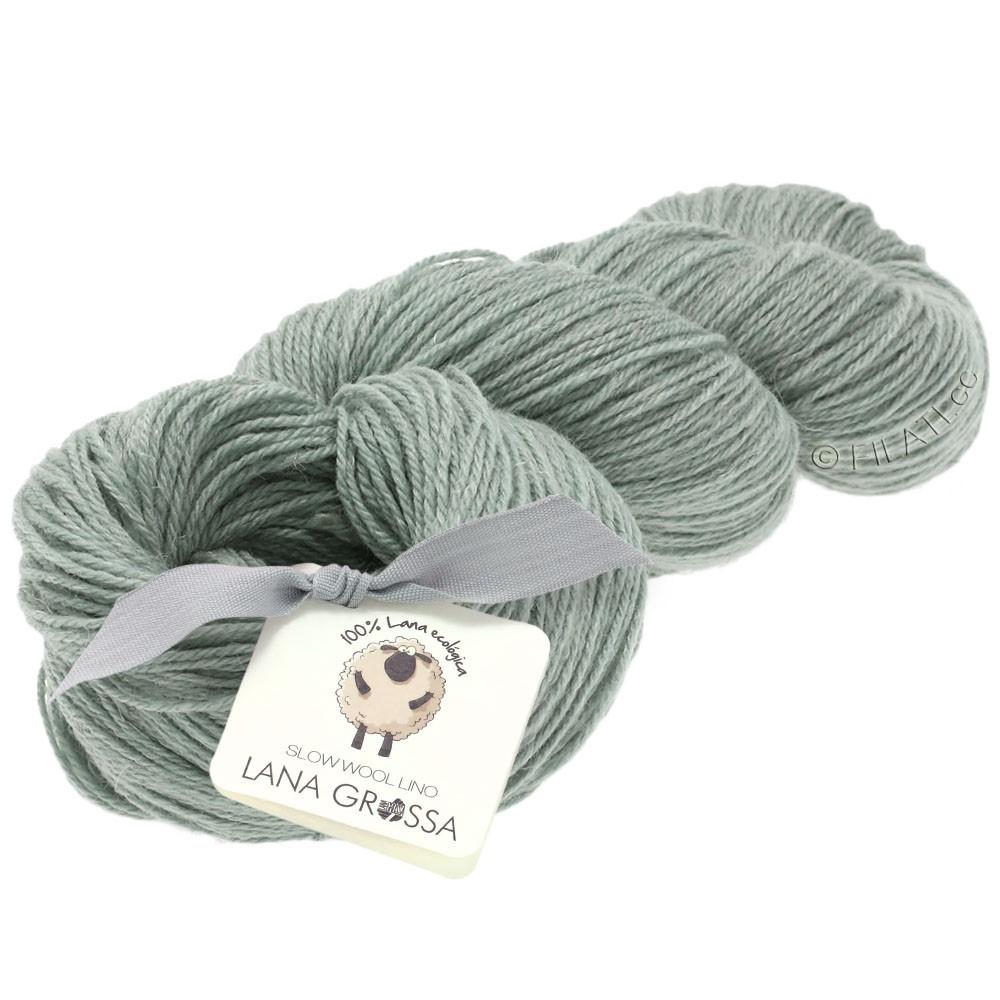 Lana Grossa SLOW WOOL LINO   06-light gray
