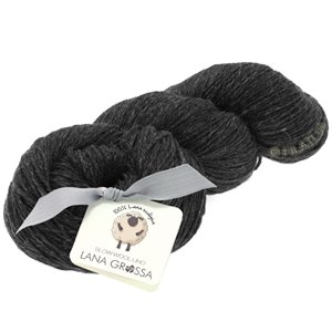 Lana Grossa SLOW WOOL LINO | 08-anthracite