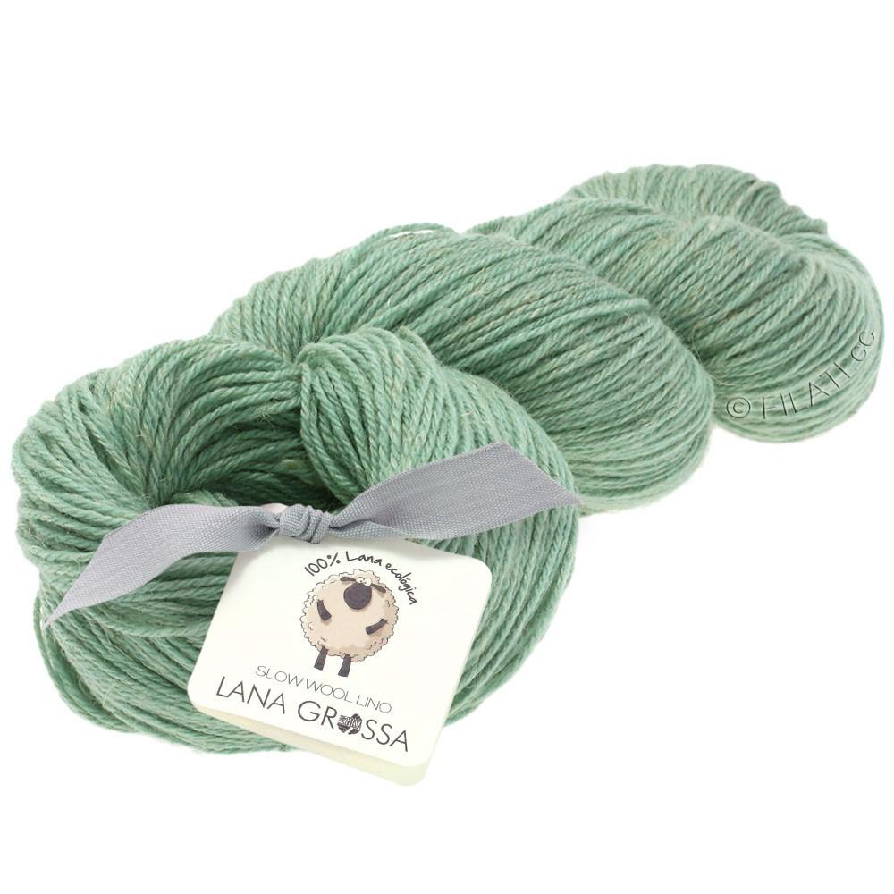 Lana Grossa SLOW WOOL LINO   10-pastel turquoise