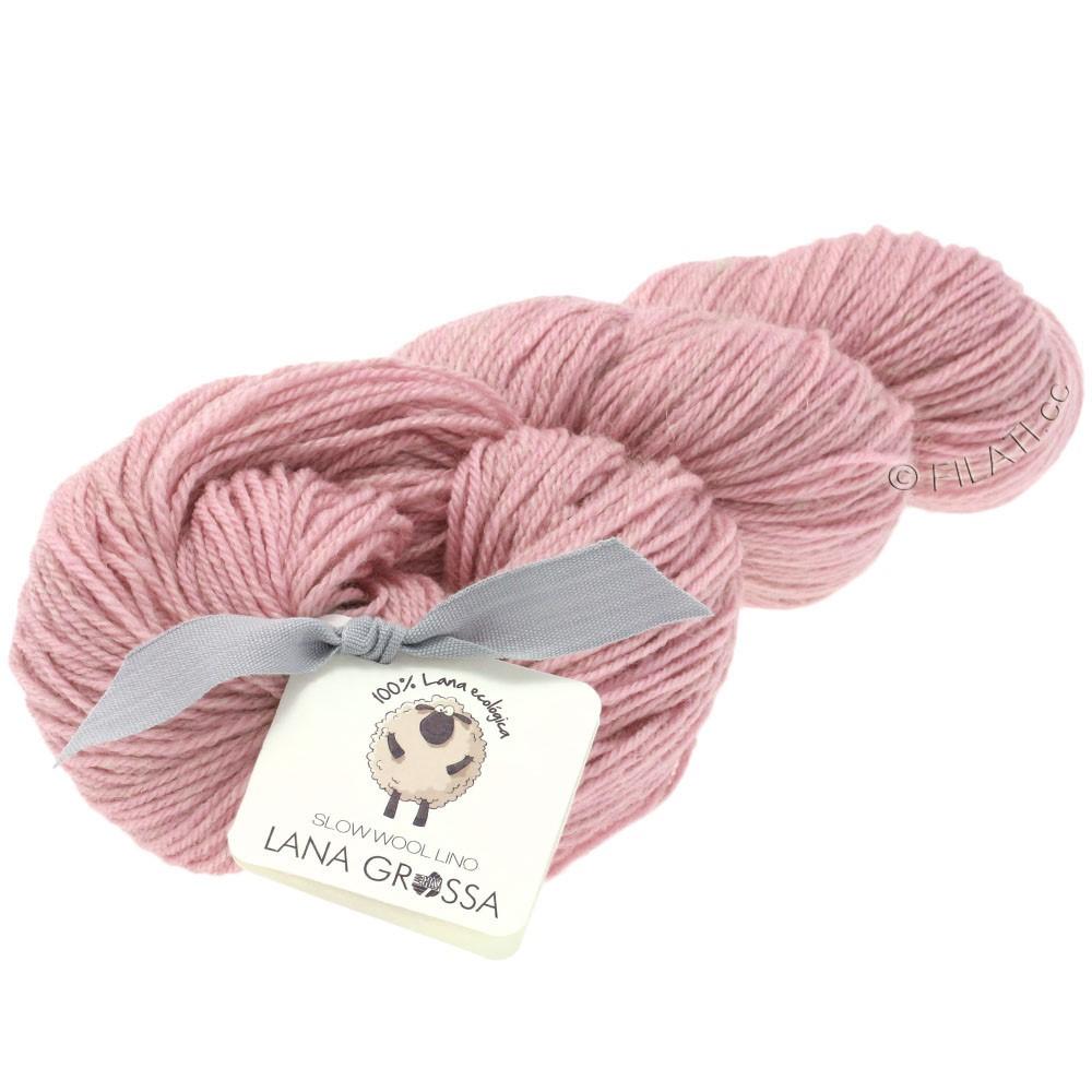 Lana Grossa SLOW WOOL LINO   16-rose
