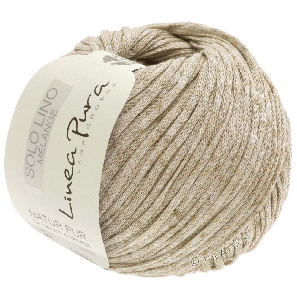 Lana Grossa SOLO LINO MELANGE (Linea Pura) | 103-beige mottled