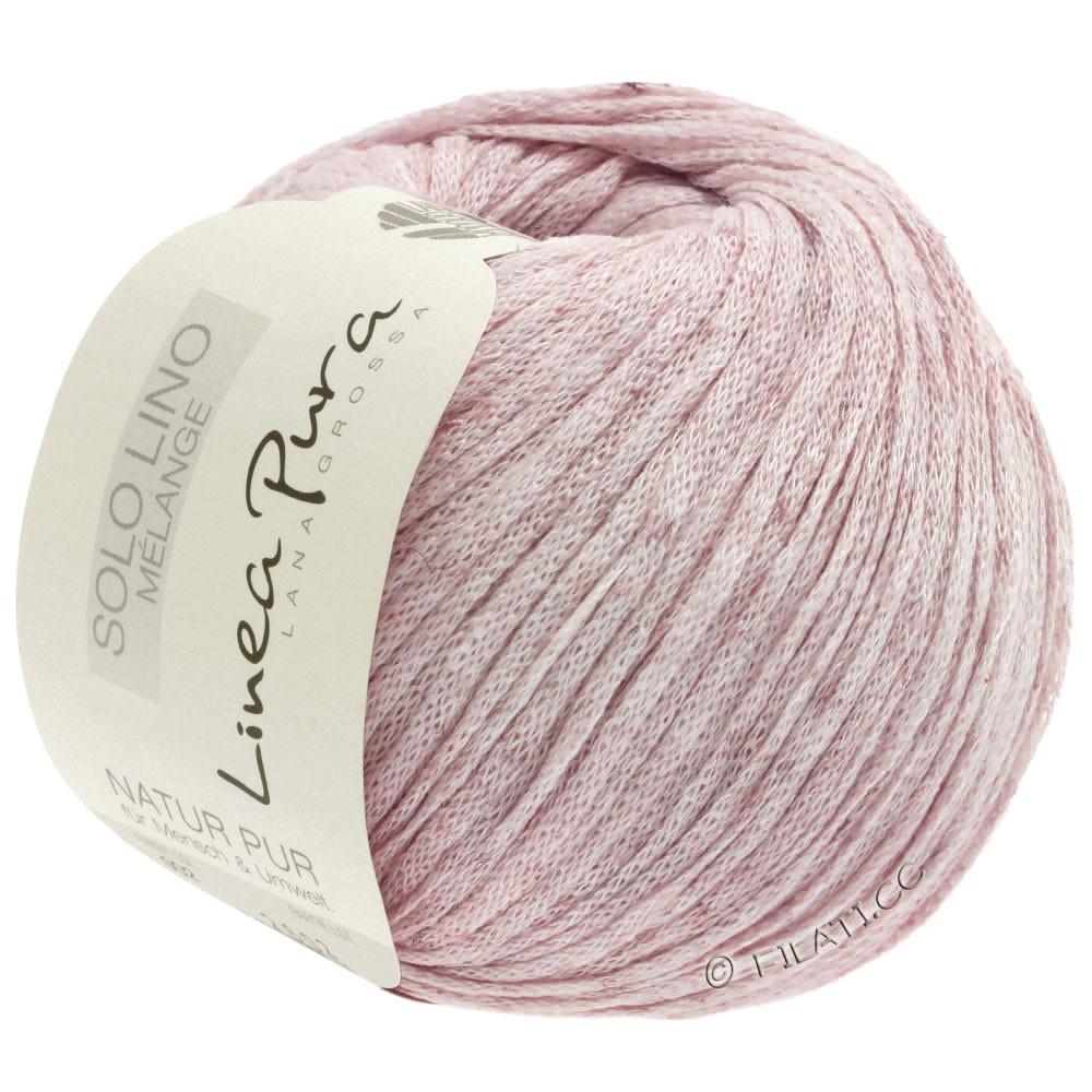 Lana Grossa SOLO LINO MELANGE (Linea Pura) | 106-rosé mottled