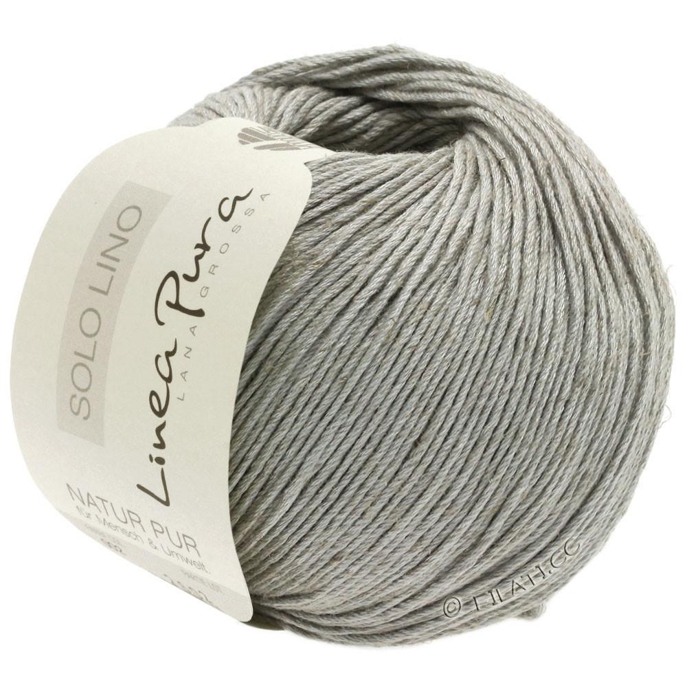 Lana Grossa SOLO LINO (Linea Pura) | 05-light gray