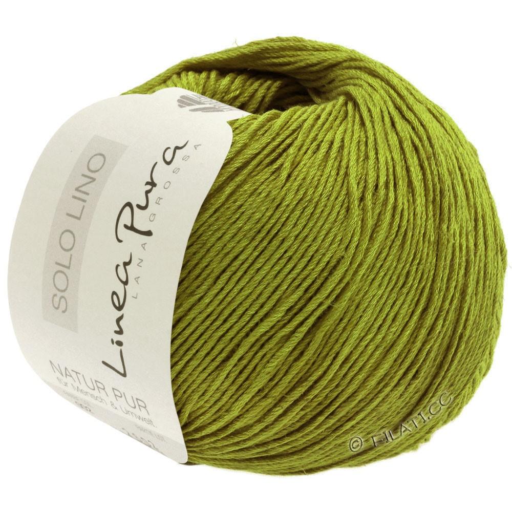 Lana Grossa SOLO LINO (Linea Pura) | 06-olive green
