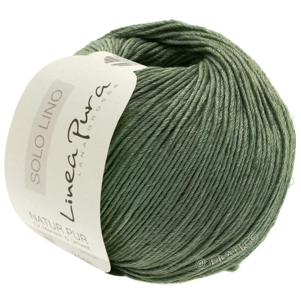 Lana Grossa SOLO LINO (Linea Pura) | 20-reseda green