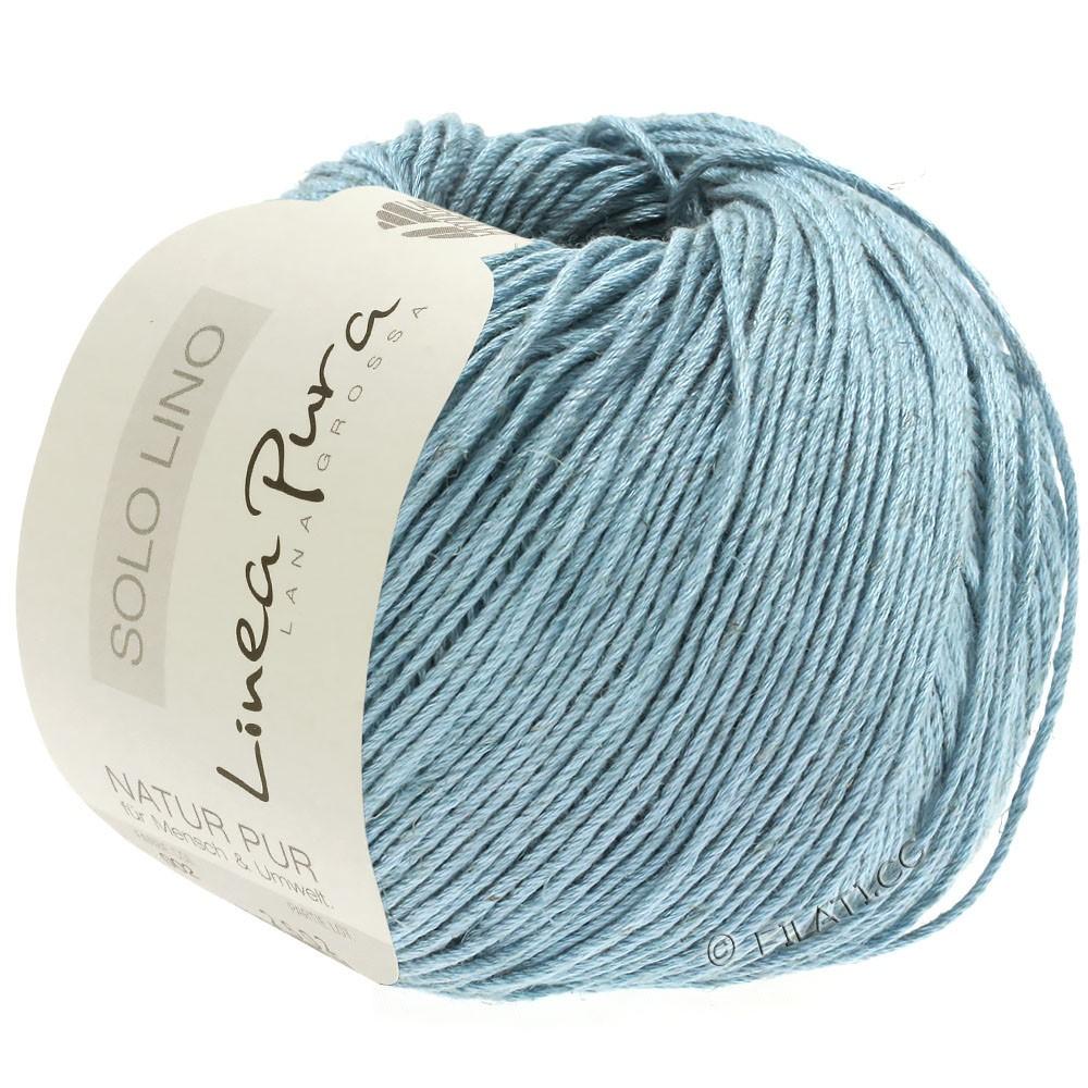 Lana Grossa SOLO LINO (Linea Pura) | 22-turquoise gray