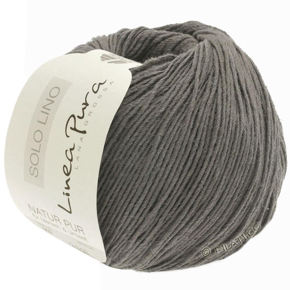 Lana Grossa SOLO LINO (Linea Pura) | 23-stone gray