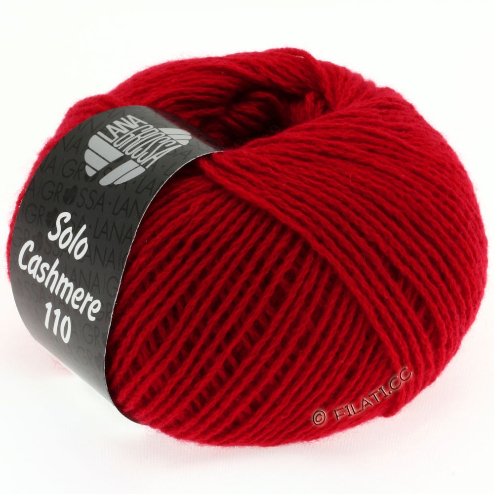Lana Grossa SOLO CASHMERE 110 | 102-red