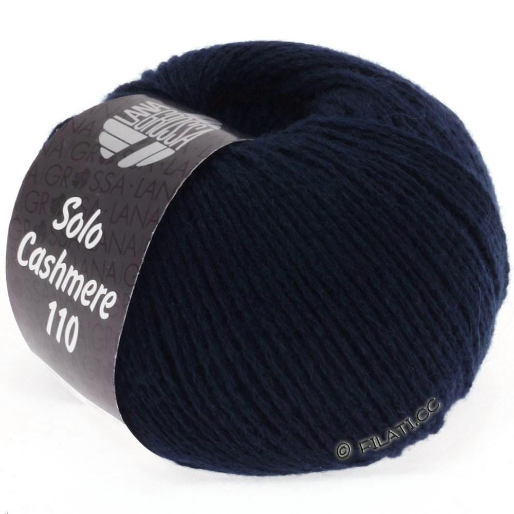 Lana Grossa SOLO CASHMERE 110 | 107-night blue