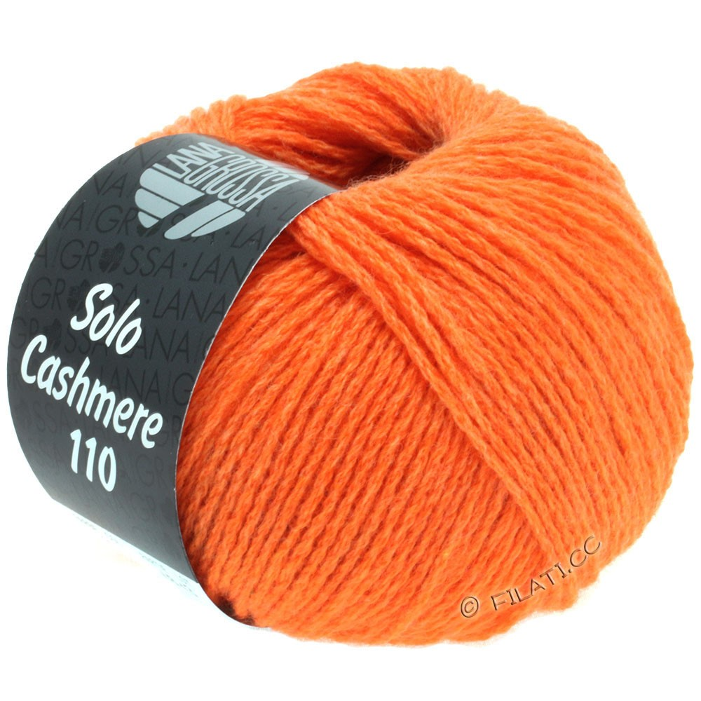 Lana Grossa SOLO CASHMERE 110 | 113-orange