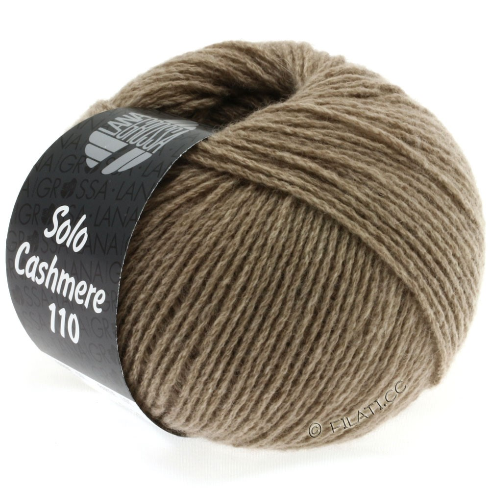 Lana Grossa SOLO CASHMERE 110 | 117-taupe