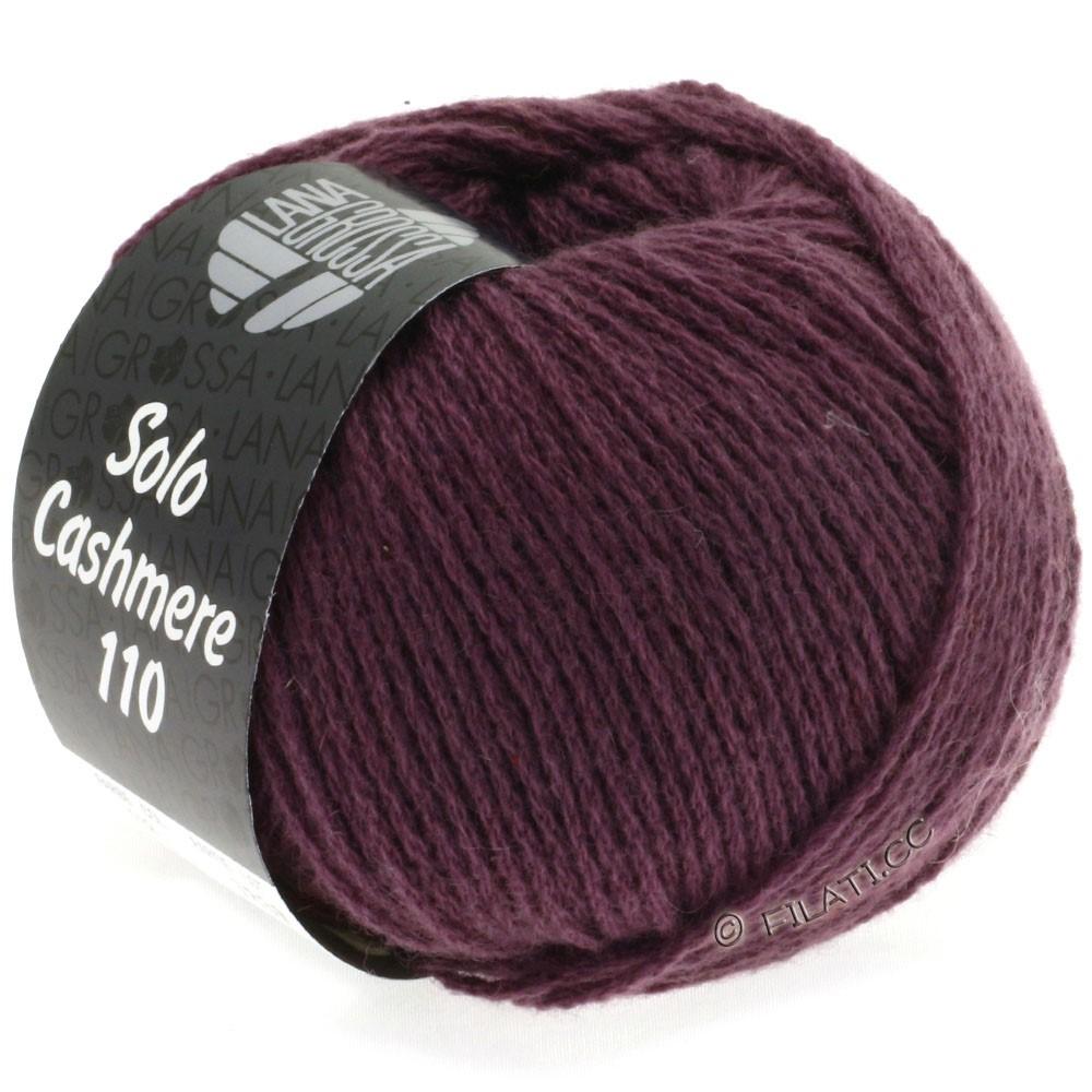 Lana Grossa SOLO CASHMERE 110 | 118-aubergine