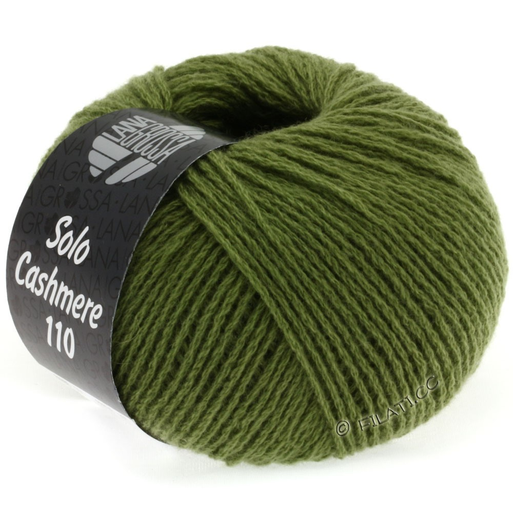 Lana Grossa SOLO CASHMERE 110 | 128-olive