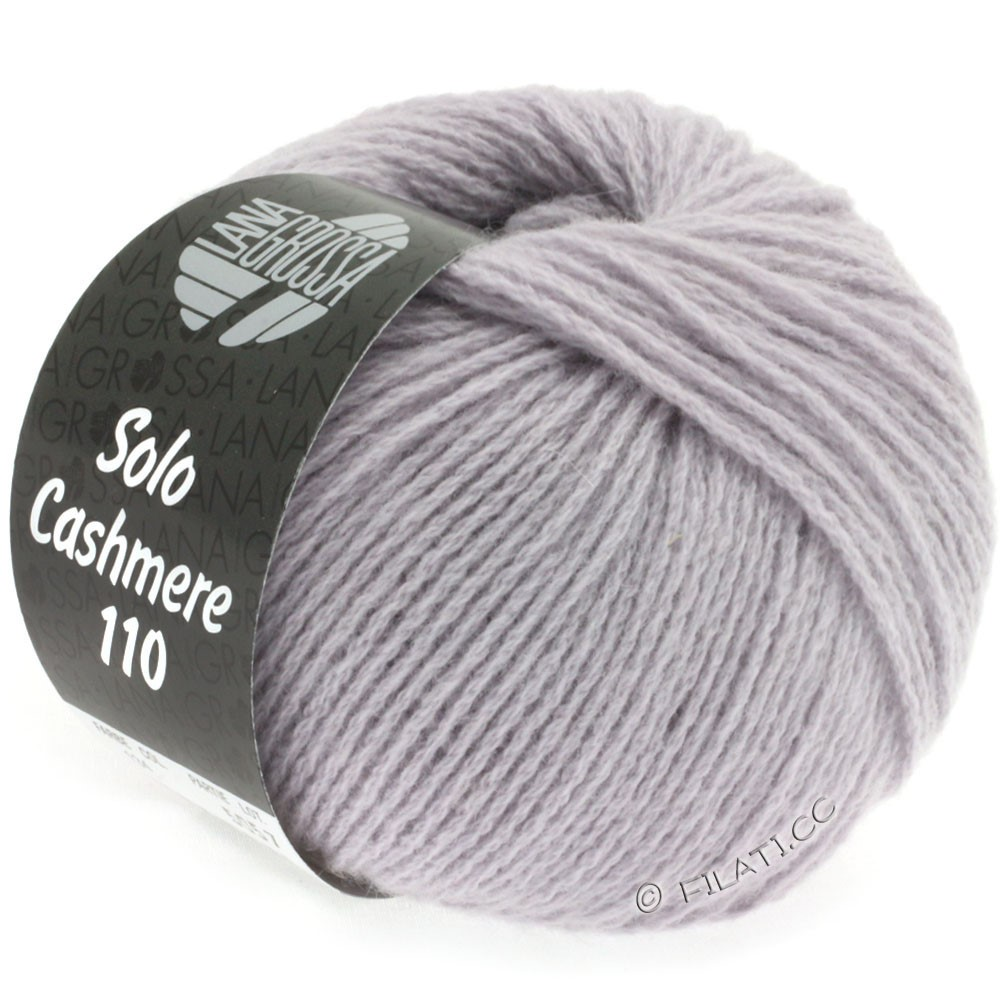 Lana Grossa SOLO CASHMERE 110 | 134-subtle purple