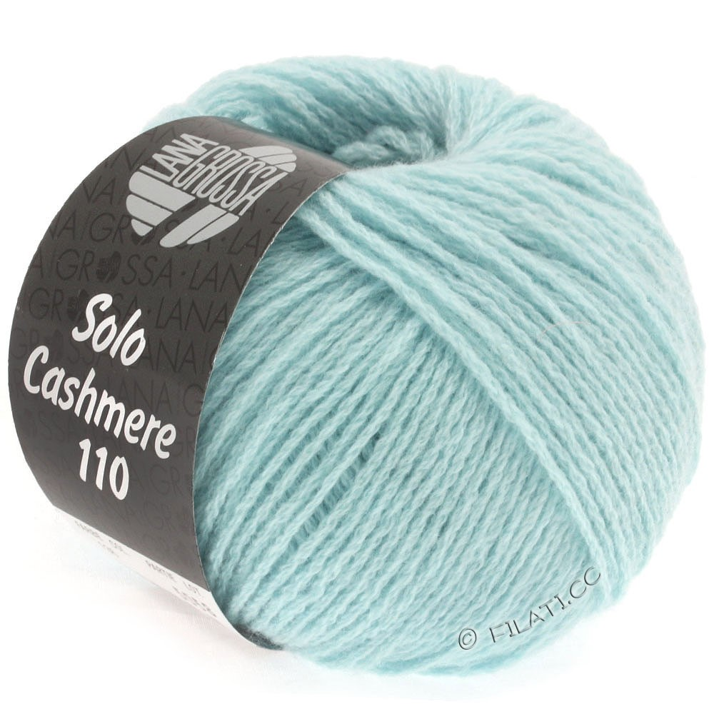 Lana Grossa SOLO CASHMERE 110 | 136-light blue