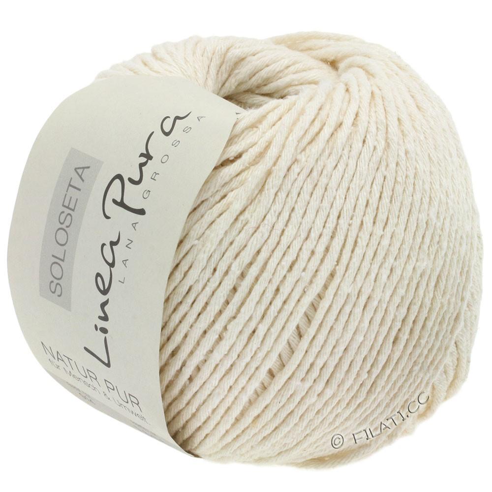 Lana Grossa SOLOSETA (Linea Pura) | 14-white